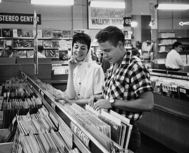 Eddie cochran with sharon sheeley for Classic house records